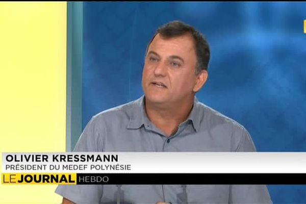 Invité du journal : Olivier Kressman