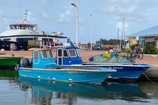 Port de pêche de La Désirade