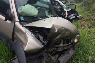 Photo accident VDE trois véhicules Mont-Dore Nouméa (12 mai 2017)