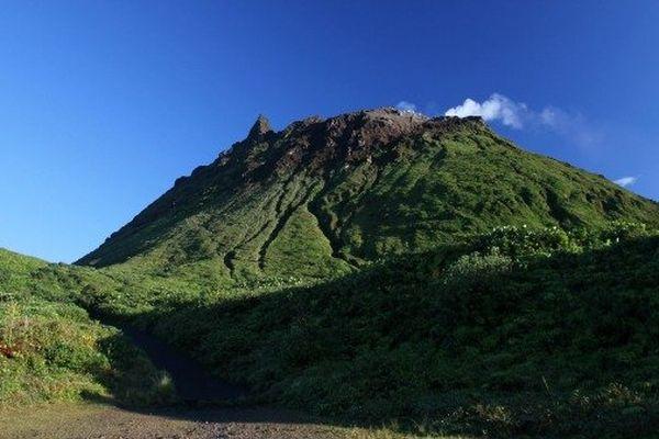 La Soufrière en Guadeloupe, par le Pas-du-Roy