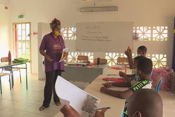 Le club Soroptimist de Kourou mobilisé dans une action de soutien scolaire