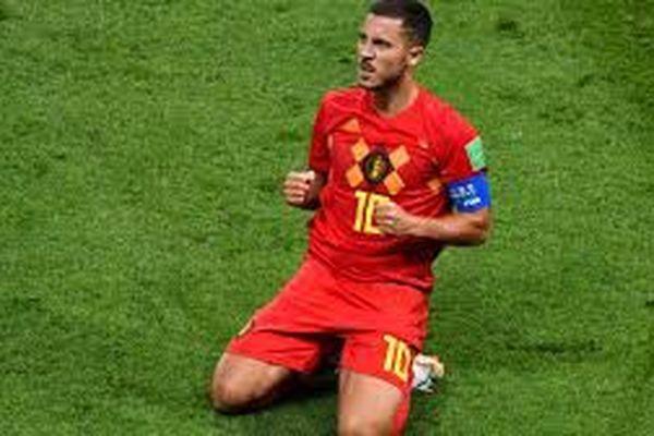 Le capitaine de l'équipe belge Eden Hazard