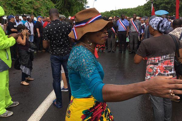 Les femmes organisent les marches