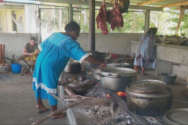 Houaïlou : tribu de Waraï