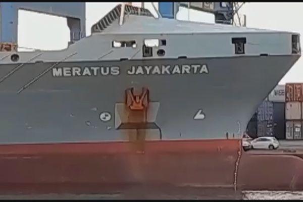 Bateau Meratus Jayakarta Indonesia