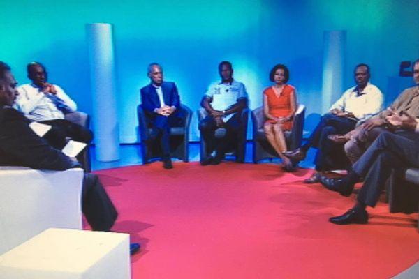 Débat spécial élection présidentielle Guadeloupe 1ère