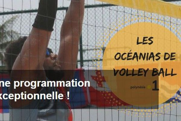 océanias de volley ball 2018