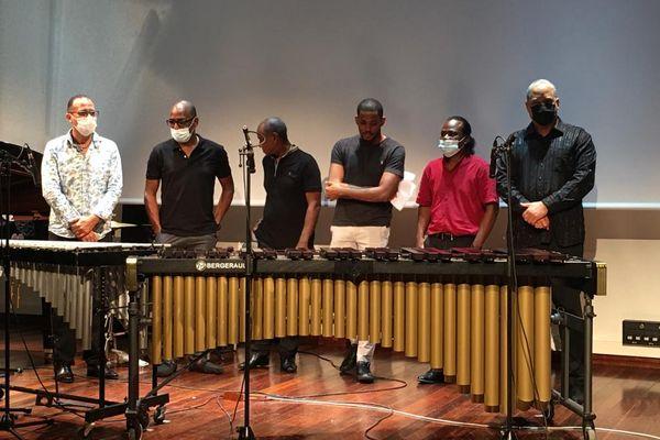 Les musiciens interprètes des partitions de Lionel Sugat