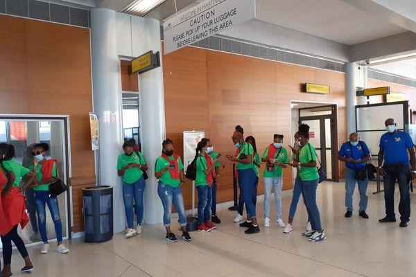 Sélections féminines de la Guadeloupe