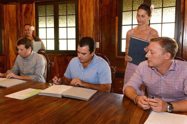 Signature de l'accord de subvention entre le ministère de la relance et la Sofidep