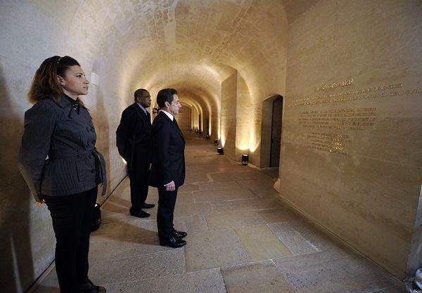 Sarkozy Plaque Césaire