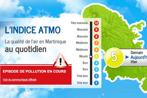 alerte pollution de l'air