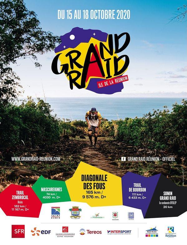 Affiche Grand Raid 2020