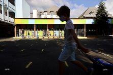 Les enfants d'une école de Saint-Denis.