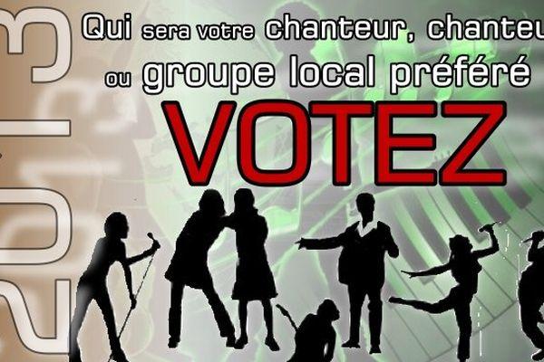 SONDAGE : Quel est votre chanteur ou groupe local préféré pour cette année 2013
