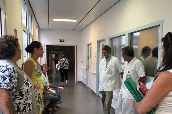 Rencontre entre le ministre de la Santé et les différents syndicats