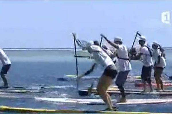 Prône et stand up paddle en vogue au fenua