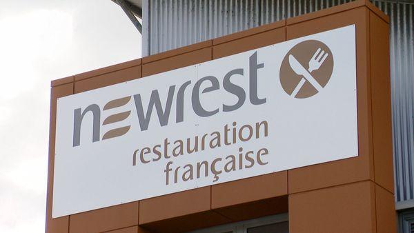 Enseigne de la Restauration française / Newrest