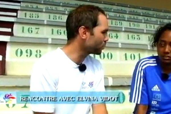 Jeux des Îles – Rencontre avec… Elvina Vidot