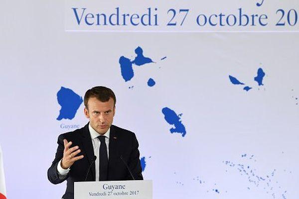Conférence de presse Macron