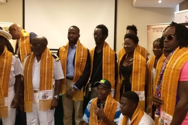 Délégation guyanaise en Côte d'Ivoire