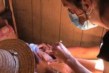 Une campagne de vaccination contre le covid-19 a eu lieu à Mafate.