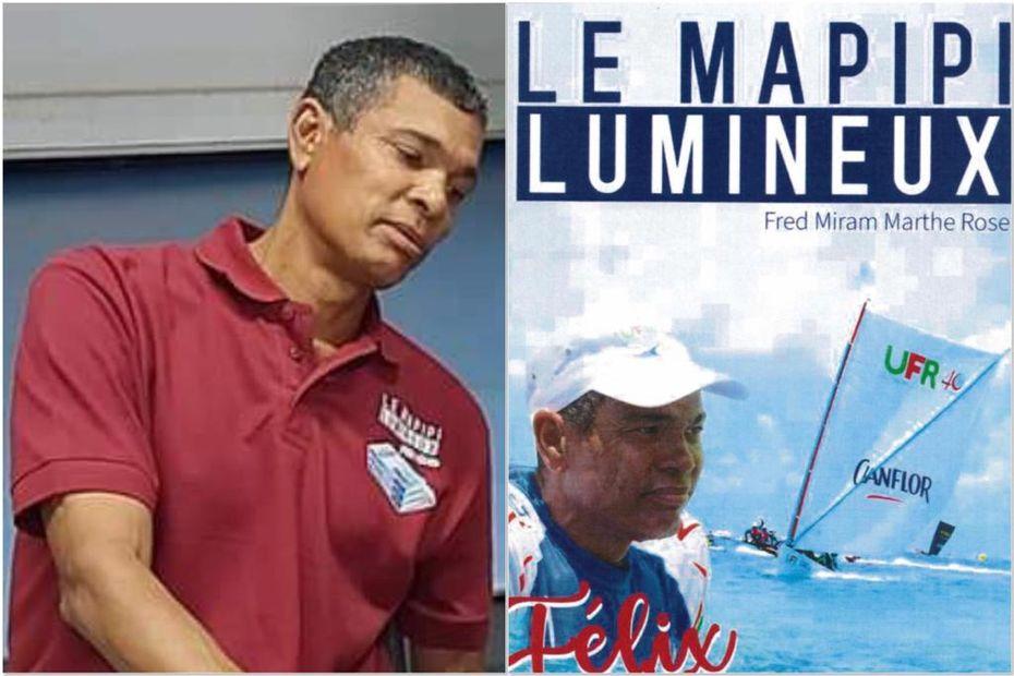 """155 pages consacrées à Félix Mérine, """"le Mapipi lumineux"""" de la yole en Martinique - Martinique la 1ère"""