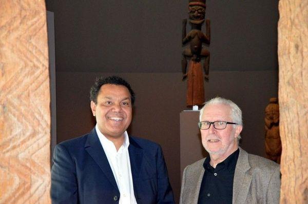 Emmanuel Kasarherou et Roger Boulay