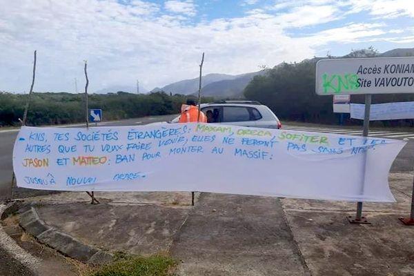 Mouvement devant l'usine KNS du Nord, mercredi 7 juillet.