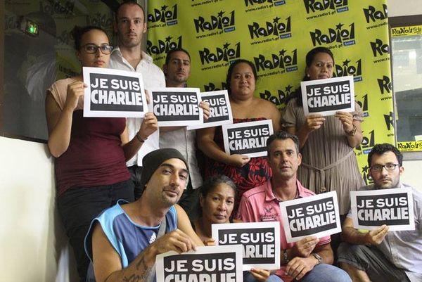 Soutien de Radio 1 suite à l'attentat contre Charlie Hebdo