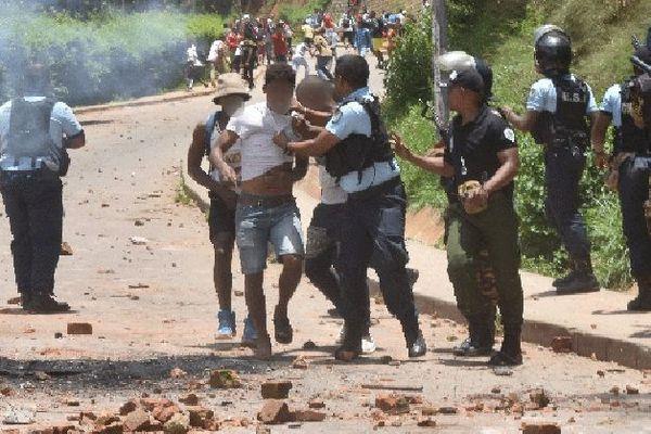Manif des étudiants à Madagascar dec 2019
