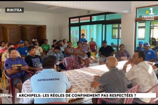 Tensions entre habitants de Rikitea et visiteurs