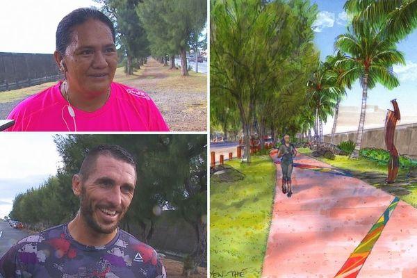 La nouvelle promenade de motu uta approuvée par les coureurs