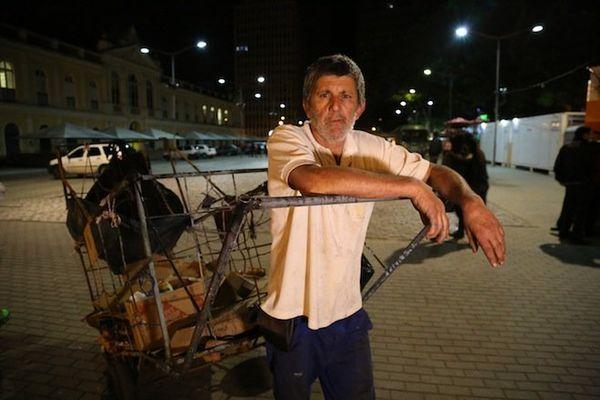 Carlos, chiffonnier de Porto Alegre
