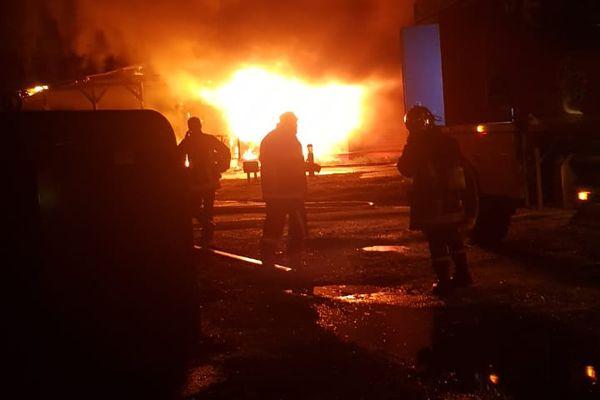 incendie de la maison des savoirs traditionnels amérindiens à Macouria