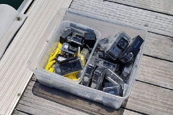 Les caméras de la brigade nautique du CRA.