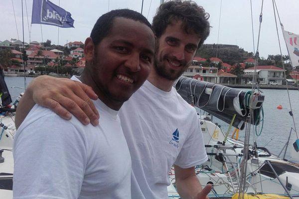 Nicolas Thomas et Arthur Prat