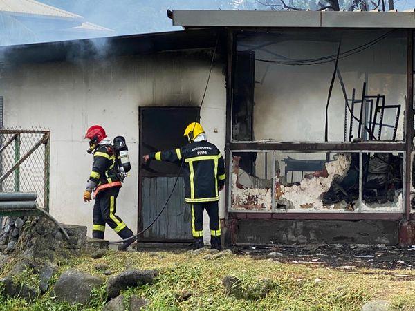 Local DGEE incendié