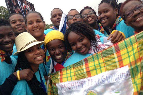 JMJ : Les jeunes guadeloupéens rencontrent le pape François