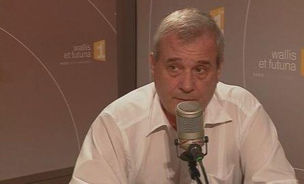 Etienne Morel le directeur de l'agence de santé de Wallis et Futuna