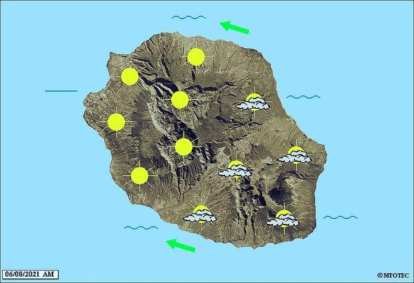 Carte météo 6 août 2021