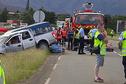 Accident mortel à Tontouta: un conducteur ivre fauche une moto et percute un véhicule de la gendarmerie