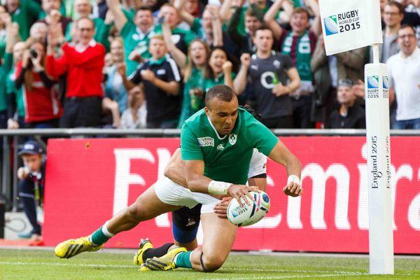 Rugby : Simon Zebo, un Irlandais aux origines martiniquaises face au XV de France