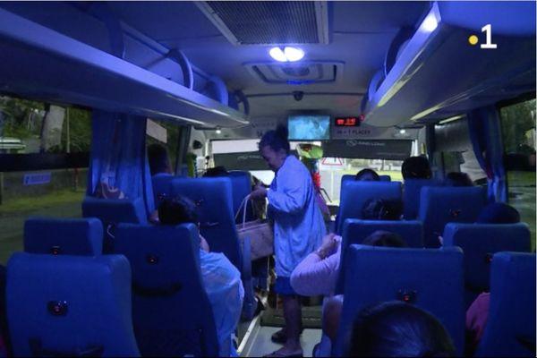 De nouveaux bus entre Taravao et Papeete