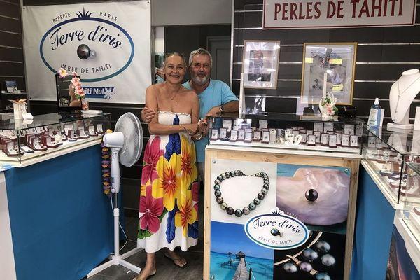 boutique éphémère perles de Tahiti
