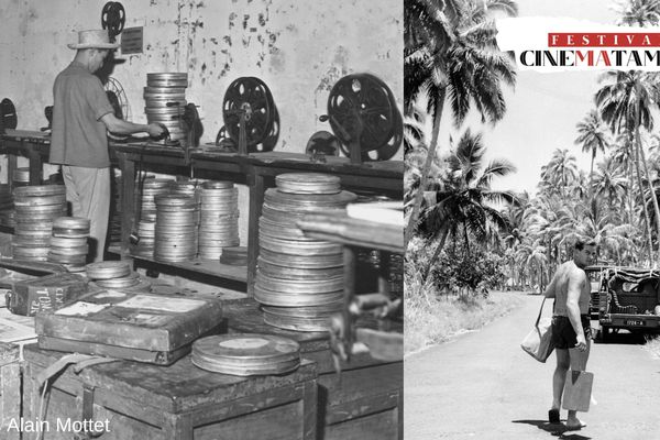 Les photos d'Alain Mottet : l'histoire du cinéma en Polynésie !