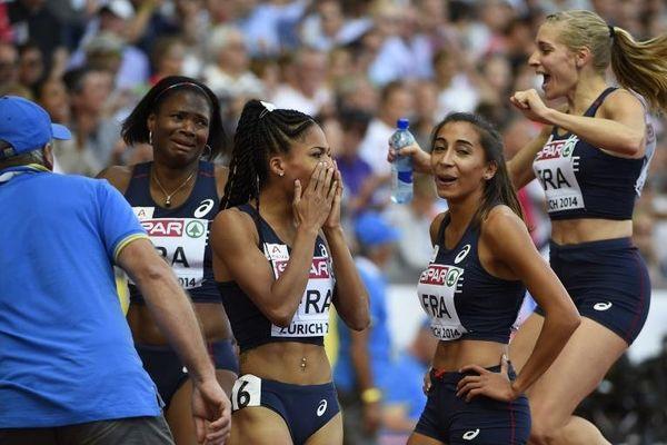 Le relais féminin français en finale des championnats d'Europe d'athlétisme
