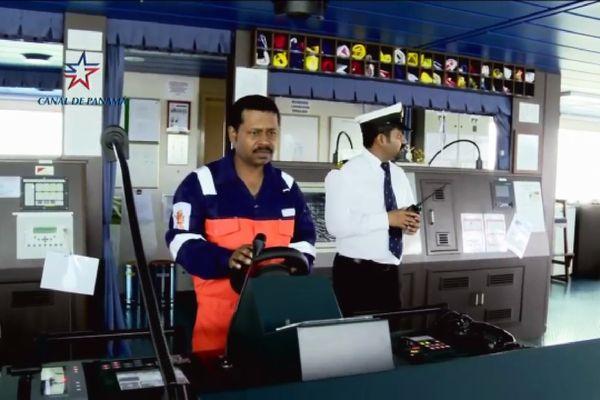 capitaine du canal de Panama
