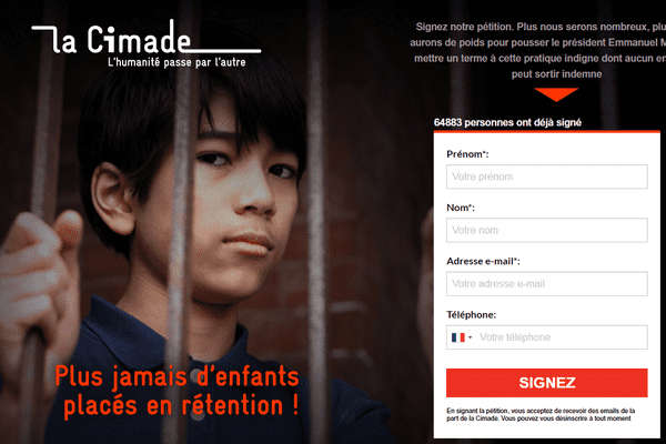 Pétition CIMADE