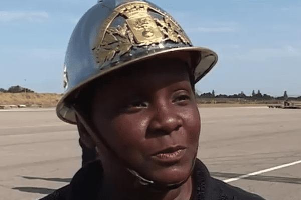 Le sergent-chef Eliane Mathurin du SDIS Guyane